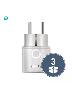 Somfy® Funk-Zwischenstecker Plug io on/off 3er Pack