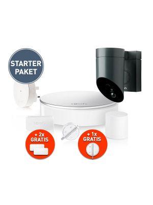 Somfy Sicherheitssystem Starterpaket inkl. Überwachungskamera weiß
